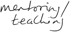 Teaching/Mentoring